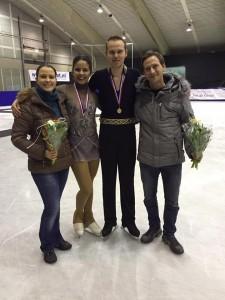 Medaille winnaars